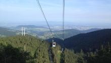 Rennrad Tour über Stohren auf den Schauinsland von Badenweiler aus