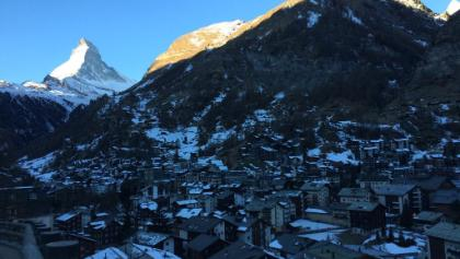 First stop and look to Zermatt