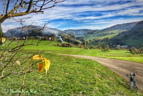 Rennrad Tour durch Freiamt von Badenweiler aus