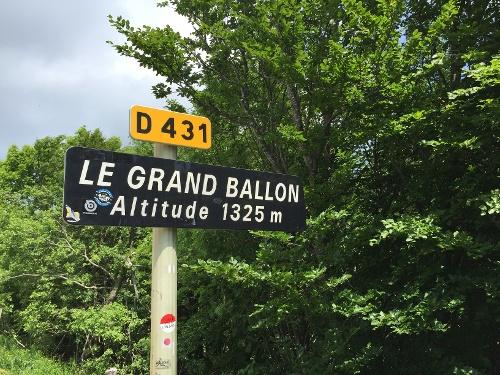 Rennrad Tour Vogesen auf den Grand Ballon von Badenweiler aus