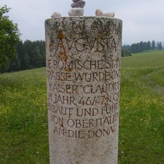 alte römische Säule