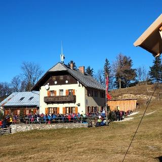 Schoberstein Hütte 1260m