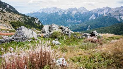 Blick Richtung dem Tal von Andrijevica