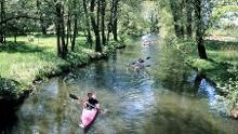 Grüne Paddeltour: Durch Burg und Burg-Kolonie auf einer 8,7 Kilometer-Tour