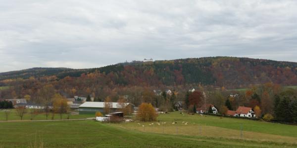 Großer Rundweg Erdmannsdorf Ausblick