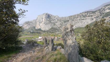 Der Blick auf den Monte Colodri
