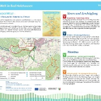 VitalWanderWelt - Wanderung Holzhauser Berg - Portaltafel