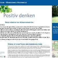 VitalWanderWelt Wanderweg Moormeile - Positiv denken