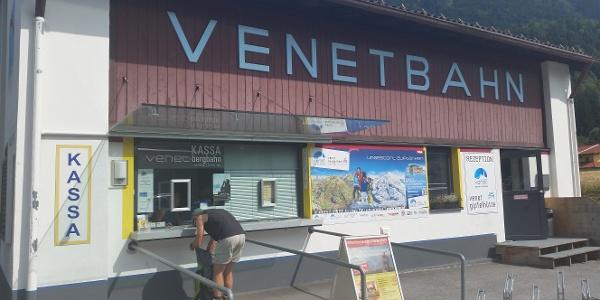 Venetbahn Talstation