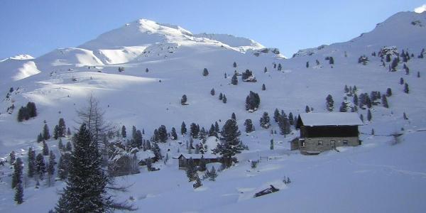 alte Lizumer Hütte und Torspitze