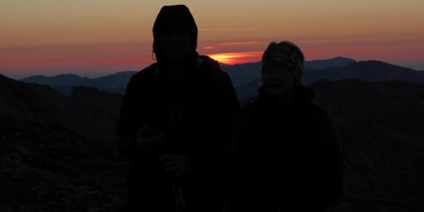 Sonnenaufgang am Hochschwab