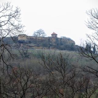 Blick auf die Ruine Battenberg