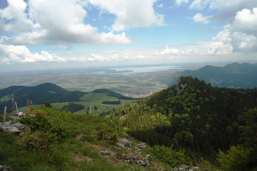 Ferner Blick auf den Chiemsee-©Autor: Stephanie Vorleitner , Quelle: Chiemsee-Alpenland Tourismus
