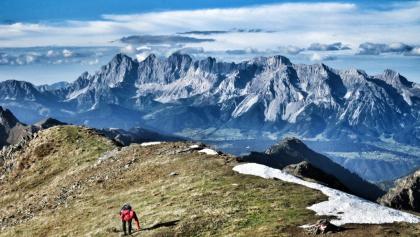 Dachstein von der Rotmandlspitze (2.453 m) (03.10.2015)