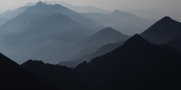 Climbing to Rocciamelone from Ca d'Asti