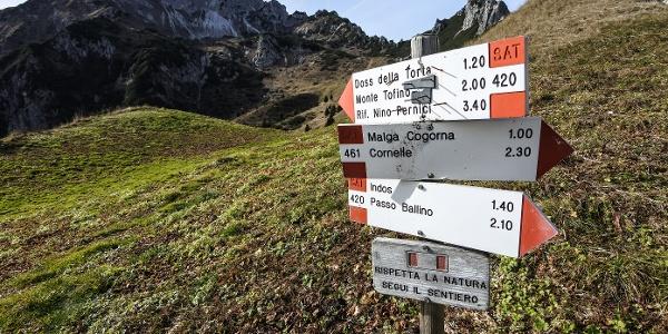 Trail Comano - 2° tappa verso passo Duron
