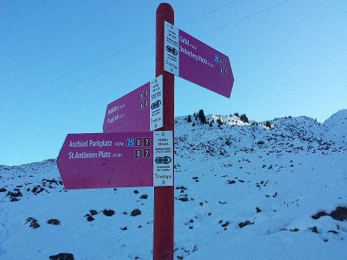 Alp-Tour St.Antönien - Pany (markierter Trail Nr. 8)