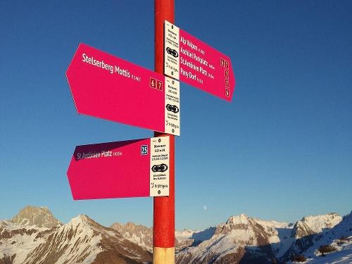 Panoramarunde Alp Valpun (markierter Trail Nr. 25)
