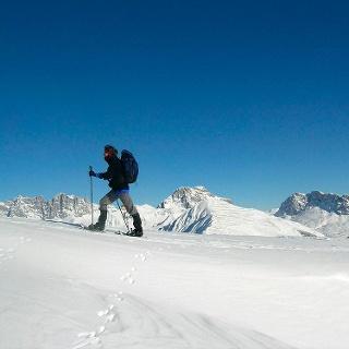 Was für ein Blick auf die Rätikon-Gipfel!