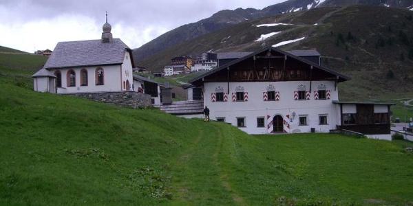 Jagdschloss Kühtai mit Kappele