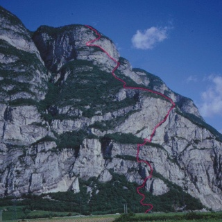 Via ferrata Favogna