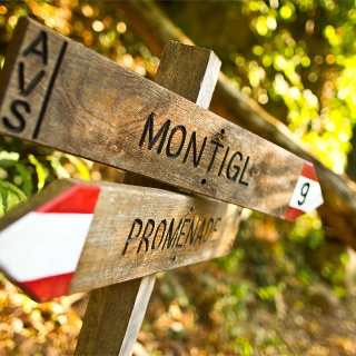 Wanderung zum Weiler Montigl