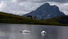 Escursione da Rina al lago di Munt da Rina