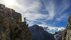 Via ferrata tour: VIA DELLA PACE (the peace trail)