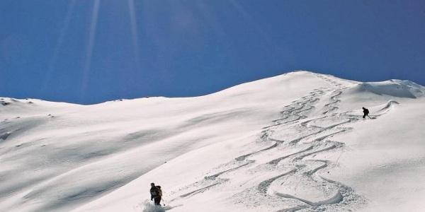 Skitour Mutte Nock