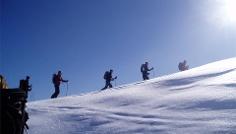 Ski Tour  auf die Putzenhöhe