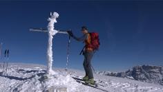 Sci alpinismo sulla Cima Tre Dita