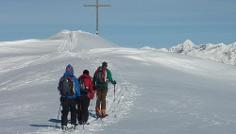 Skitour Flatschkofel