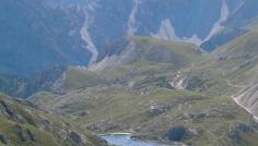 Lake Colli Alti - mountain three fingers