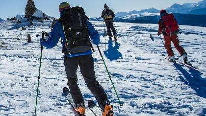 Ski tour in Valle Aurina/Ahrntal