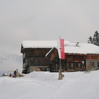 Busegge Alm/Malga Busegge-Weißenbach/Rio Bianco