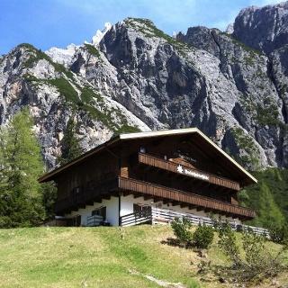 Innerfeldtal - Val Campo di Dentro valley / Dreischusterhütte - Rifugio Tre Scarperi mountain refuge