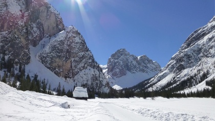 Val Campo di Dentro / Innerfeldtal - Rif. Tre Scarperi / Dreischusterhütte
