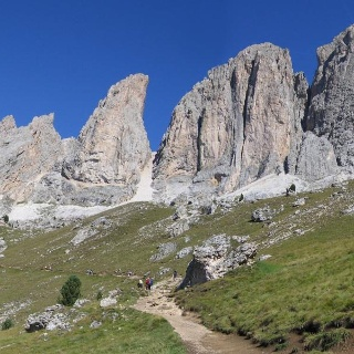 Ascent of the Sasso Piatto