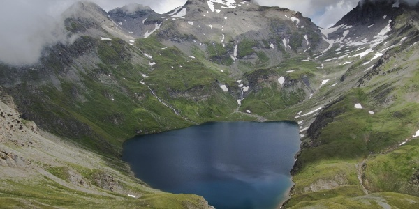 Der wilde See - im Hintergrund die wilde Kreuzspitz