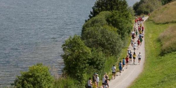 Running Lake Haider