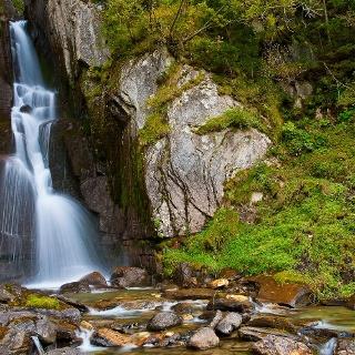 Moaßl waterfall Pfitsch Sterzing Vipiteno