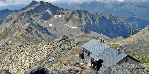Landshuter Europahütte Pfitsch Sterzing