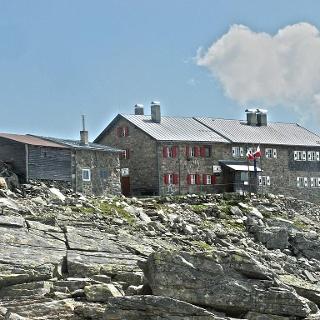 Europahütte mountain hut Pfitsch valley Sterzing
