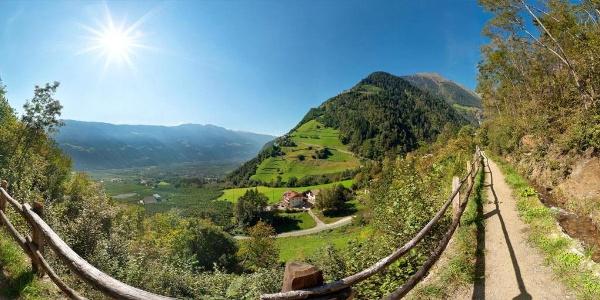 Meraner Waalrunde - 6. Etappe Partschins-Rabland
