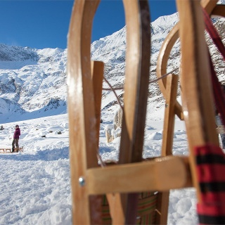 Sledging in the Passeier Valley