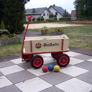 Boßel-Bollerwagen