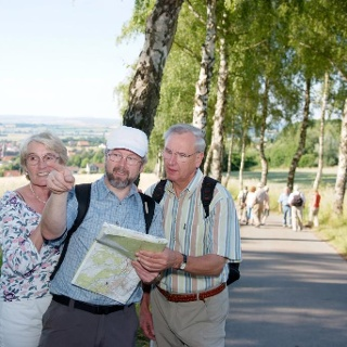 Wanderer in Nieheim