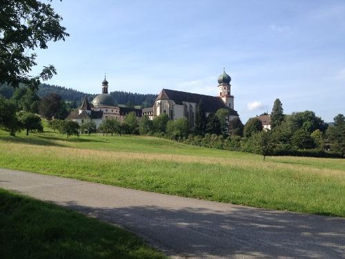 Radtour in das Münstertal zum Kloster St. Trudpert von Badenweiler aus