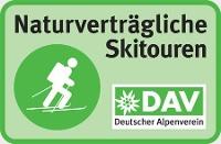 Logo - Skibergsteigen umweltfreundlich