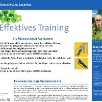 VitalWanderWelt Wanderweg Salzetal - Effektives Training